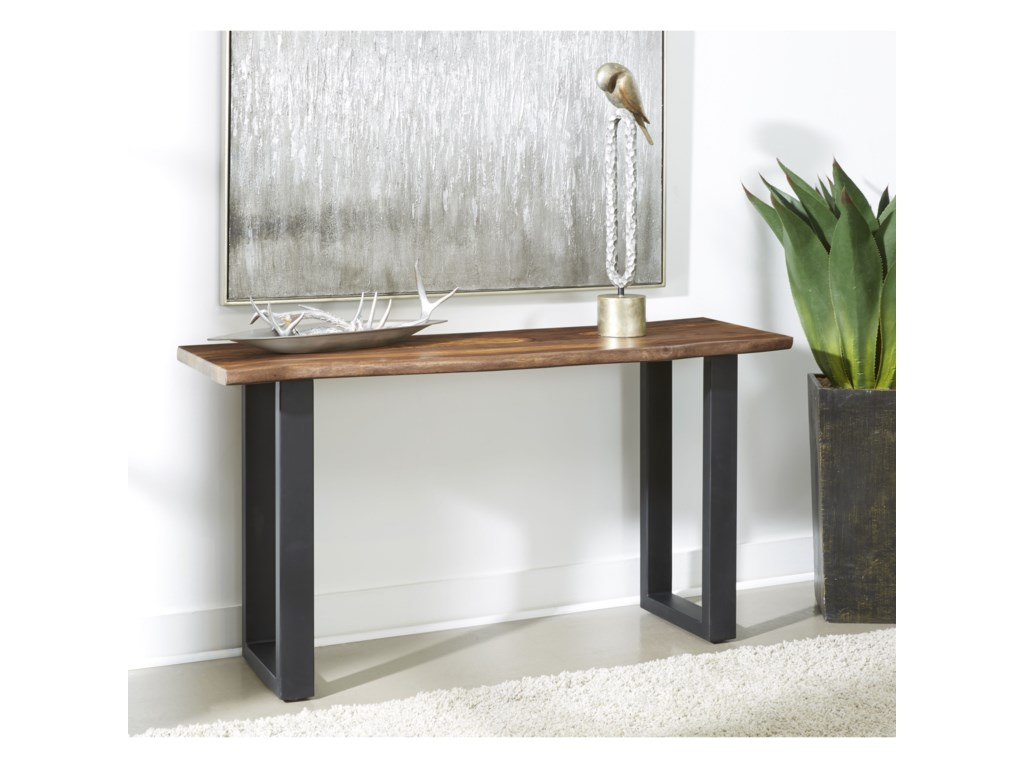 Coast to Coast Imports Brownstone IIConsole Table