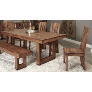 Brownleigh 5 Piece Dining Set Includes Table And 4 Chairs Bench Sold Separately Morris Home Dining 5 Piece Sets