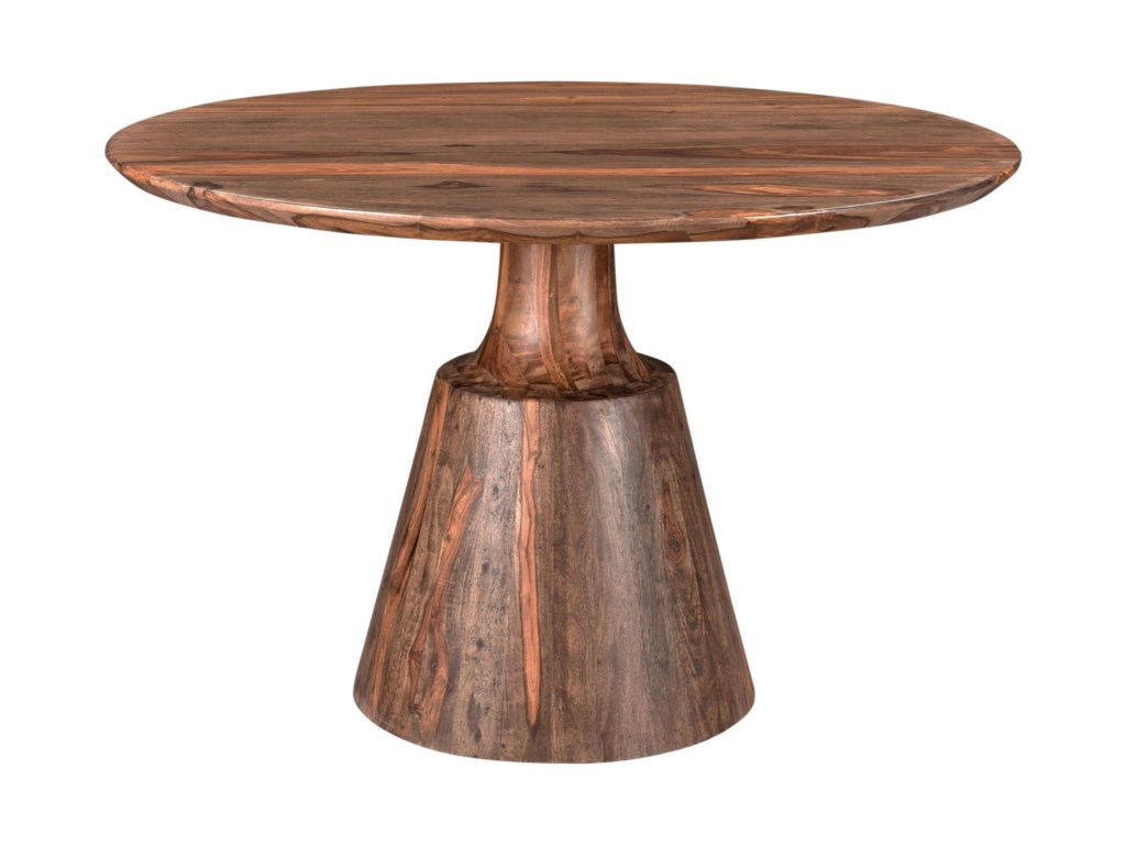 Coast to Coast Imports BrownstoneRound Dining Table