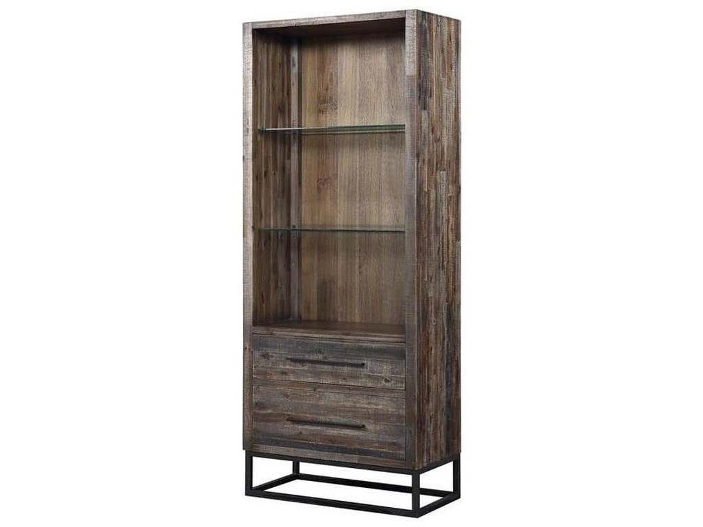 Coast to Coast Imports Canyon RidgeTwo Drawer Bookcase/Pier