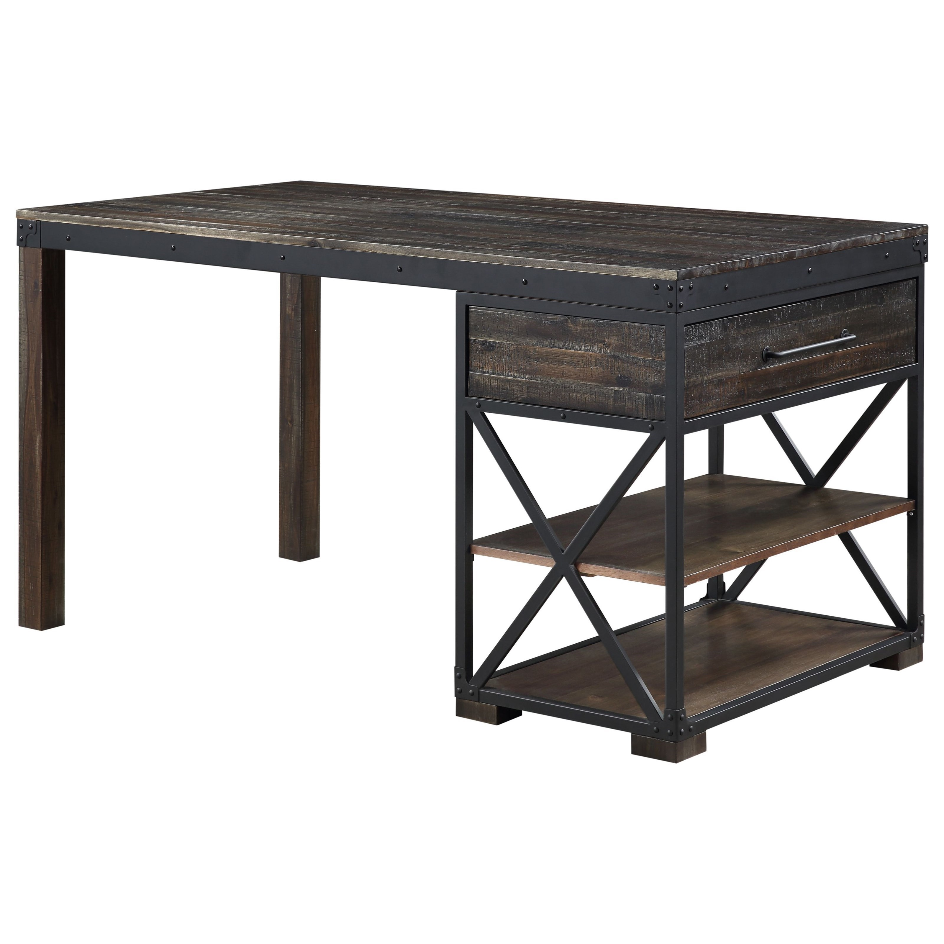 Industrial Counter Dining Table