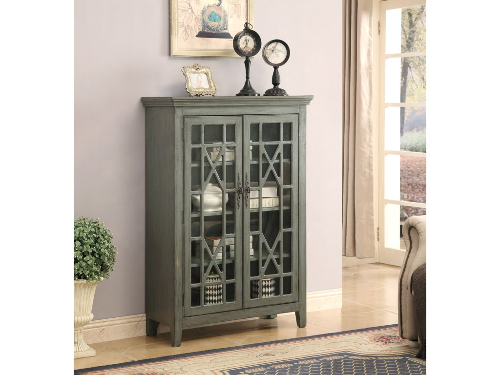 Coast to Coast Imports CliftonTwo Door Bookcase
