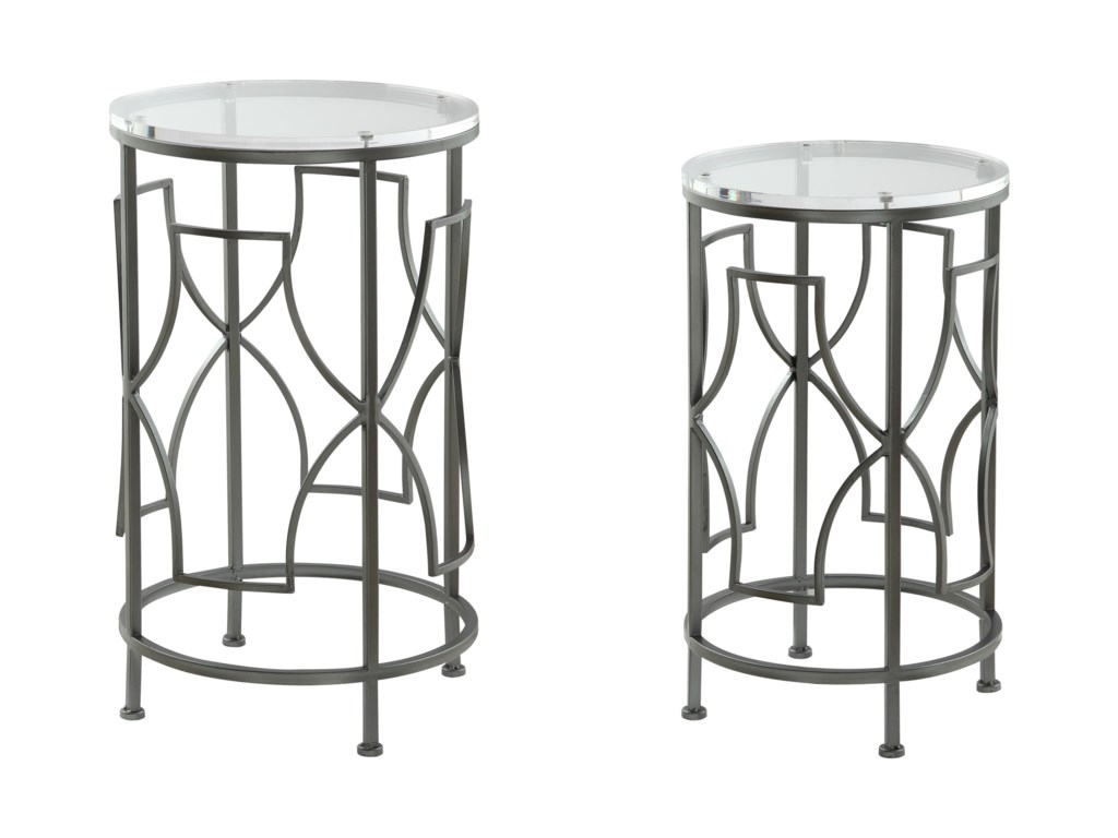 0a880a164ee1c Coast to Coast Imports Coast to Coast AccentsSet of Two Nesting Tables ...