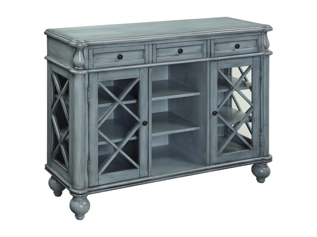 Coast to Coast Imports Coast to Coast AccentsThree Drawer Two Door Credenza