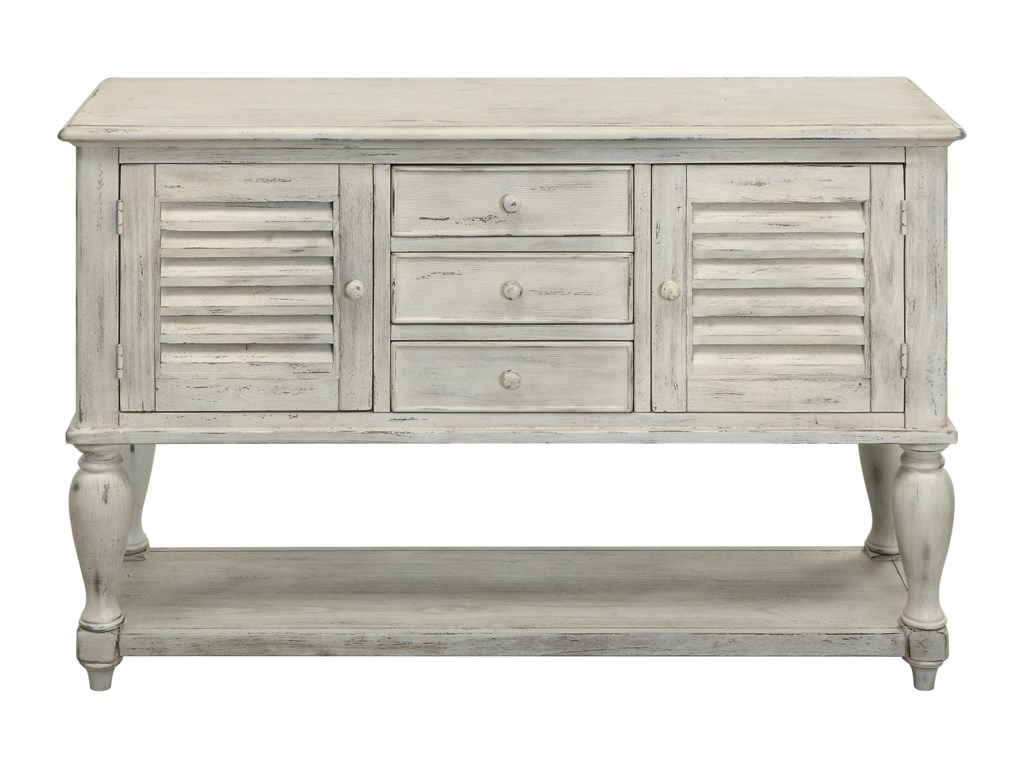 Coast to Coast Imports Coast to Coast AccentsThree Drawer Two Door Console