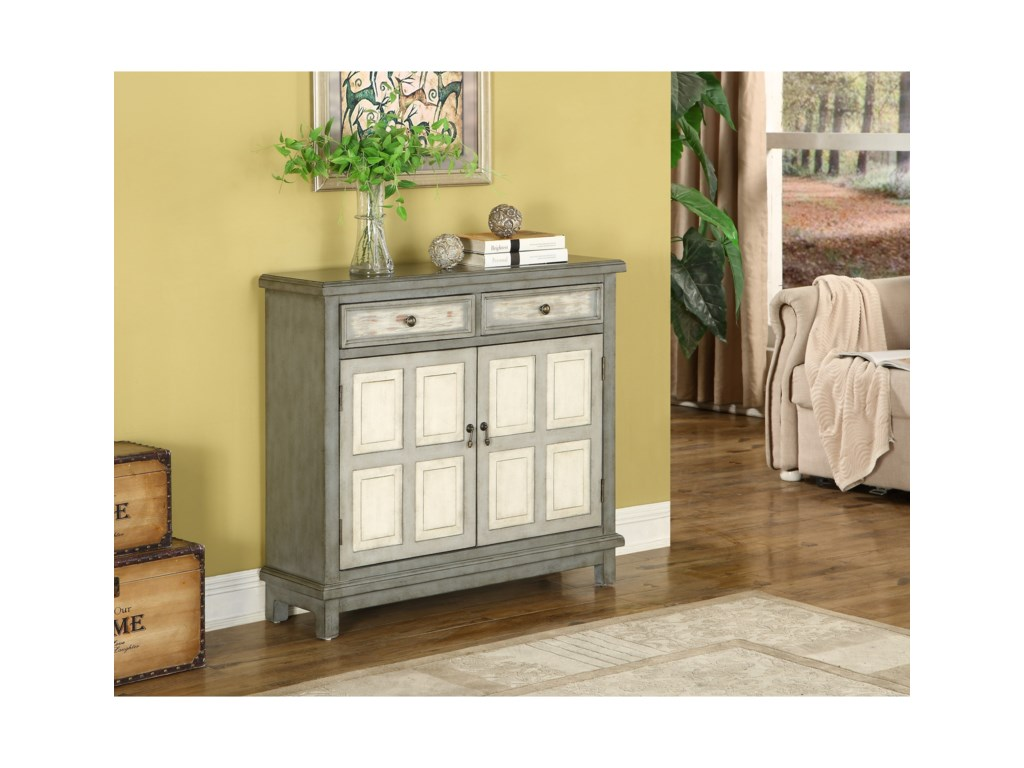 Coast to Coast Imports Coast to Coast AccentsTwo Drawer Two Door Cabinet