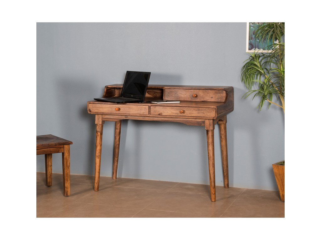 Coast to Coast Imports Coast to Coast AccentsThree Drawer Writing Desk