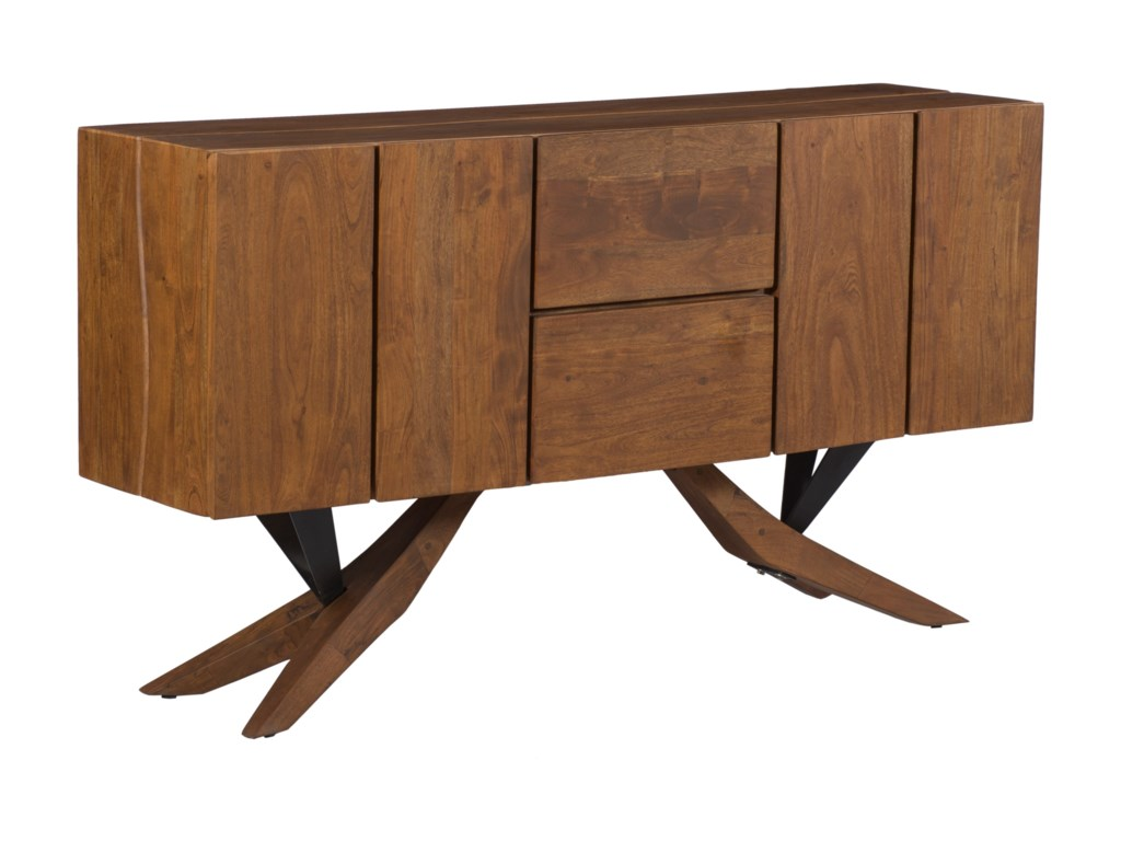 Coast to Coast Imports Coast to Coast AccentsTwo Drawer Two Door Credenza