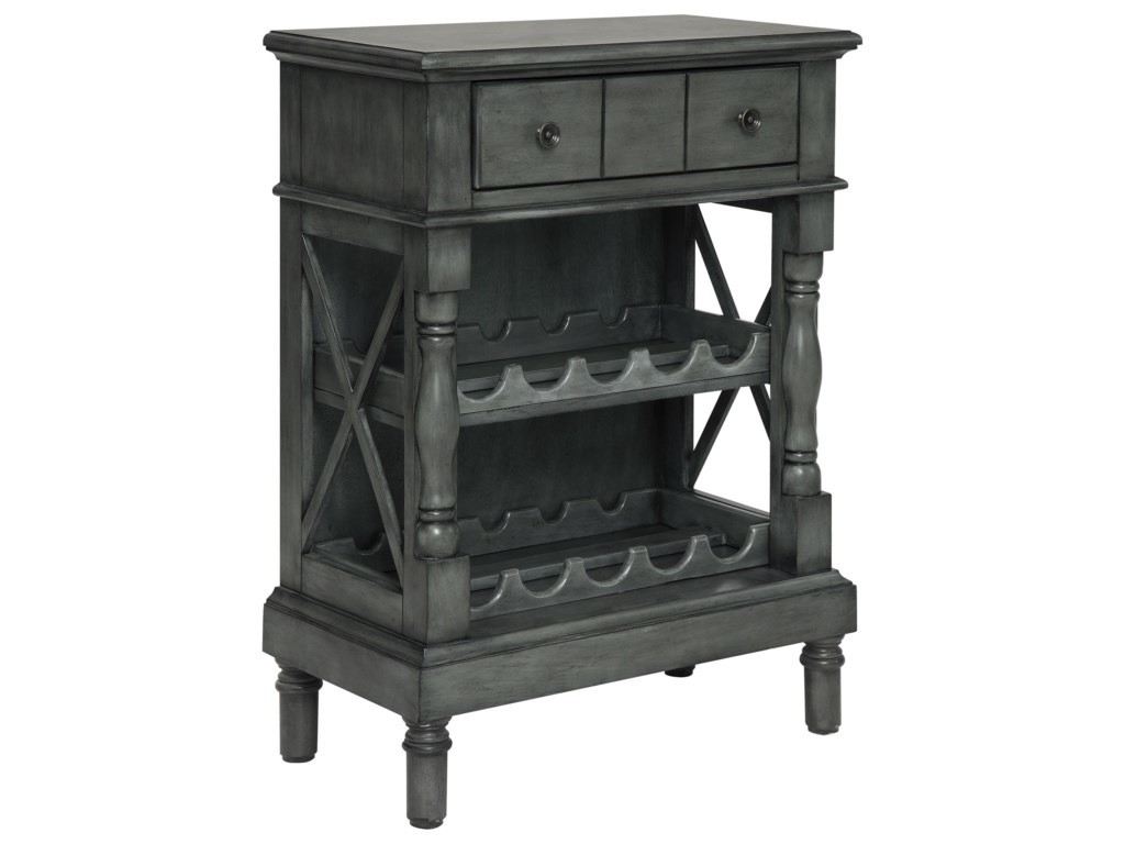 Coast to Coast Imports Coast to Coast AccentsOne Drawer Wine Server/Bookcase