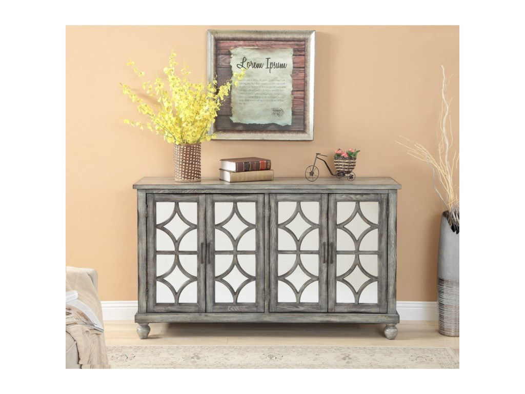 Kaleidoscope Coast to Coast AccentsFour Door Media Credenza