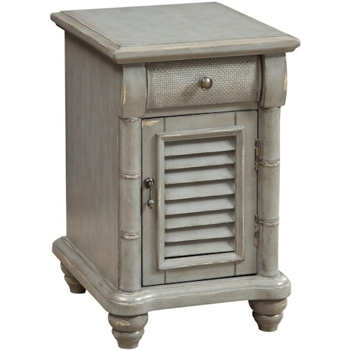 Coast to Coast Imports Coast to Coast Accents One Door One Drawer Chairside with Power