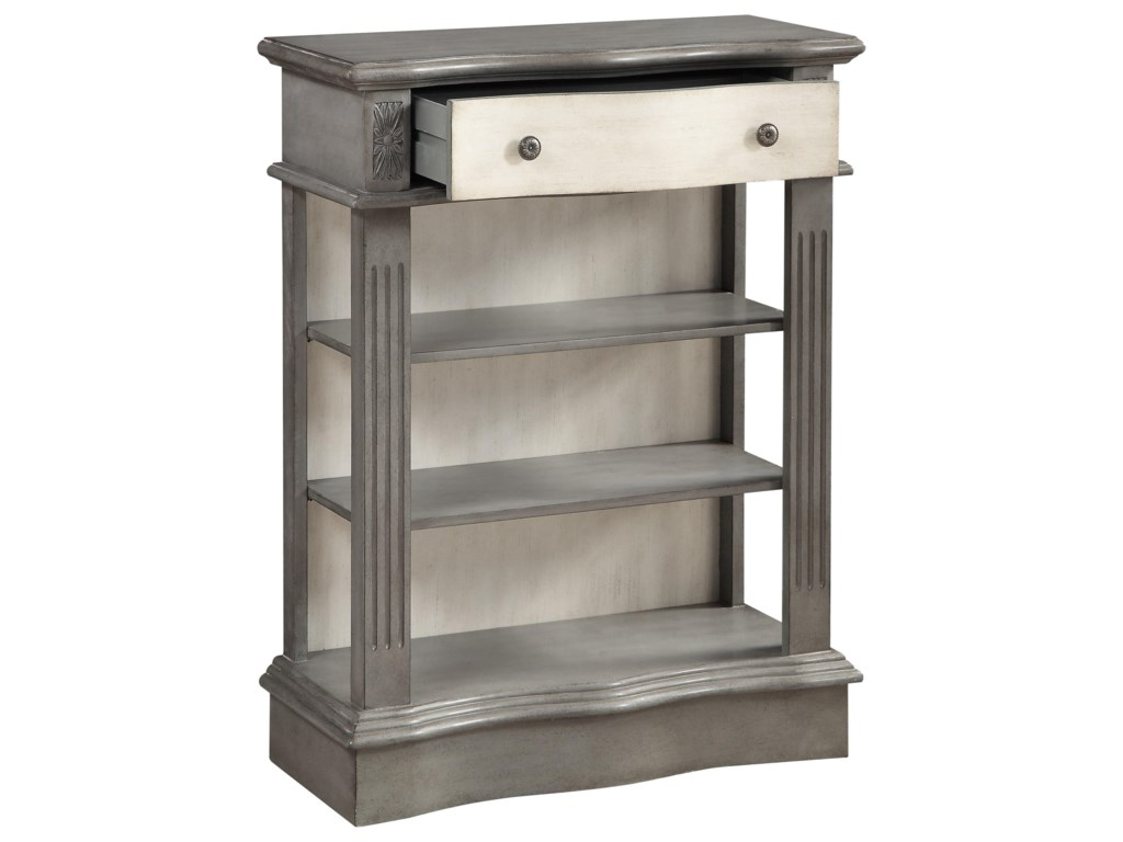 Coast to Coast Imports Coast to Coast AccentsOne Drawer Bookcase