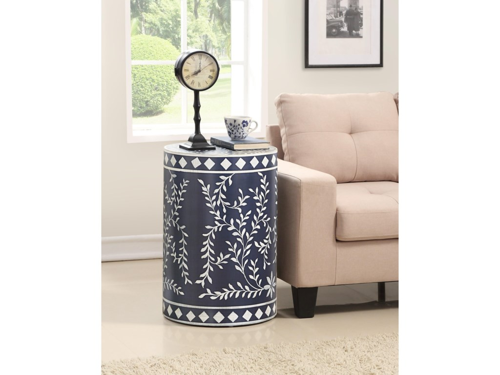 Kaleidoscope Coast to Coast AccentsRound Accent Table