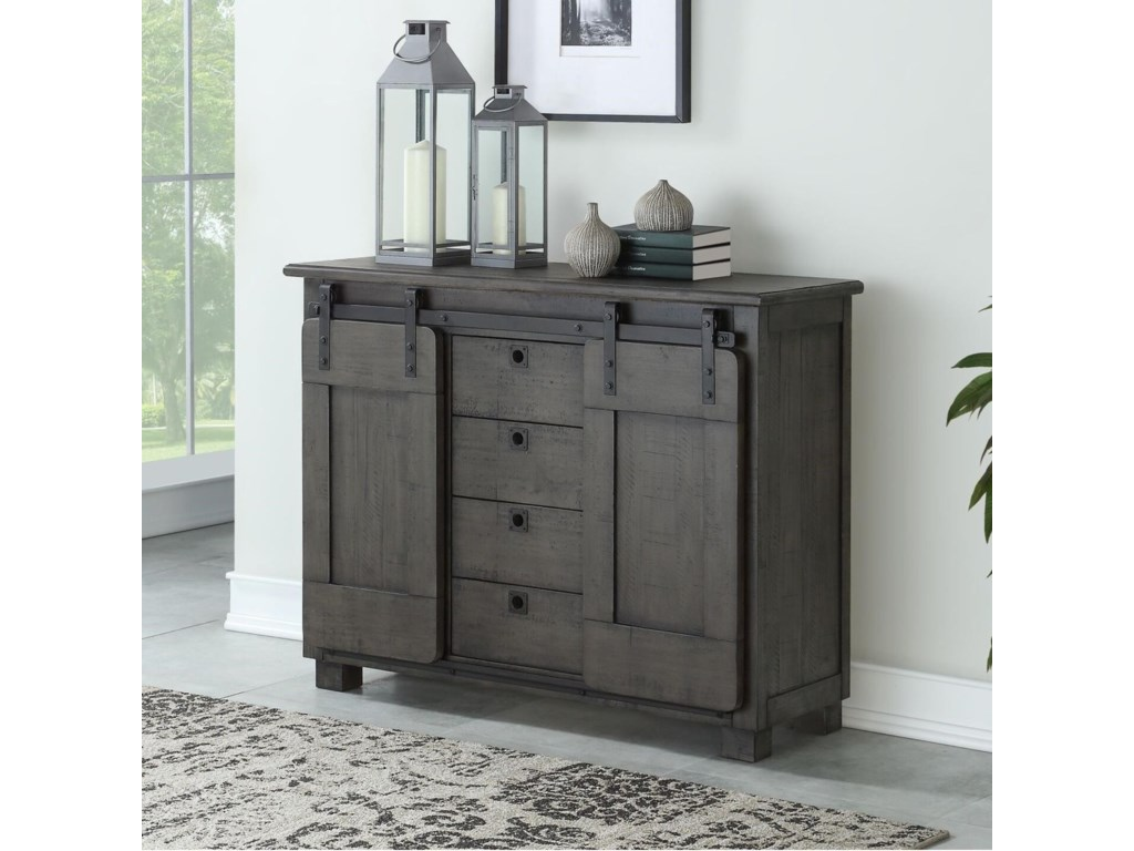 Coast to Coast Imports asdfFour Drawer Credenza
