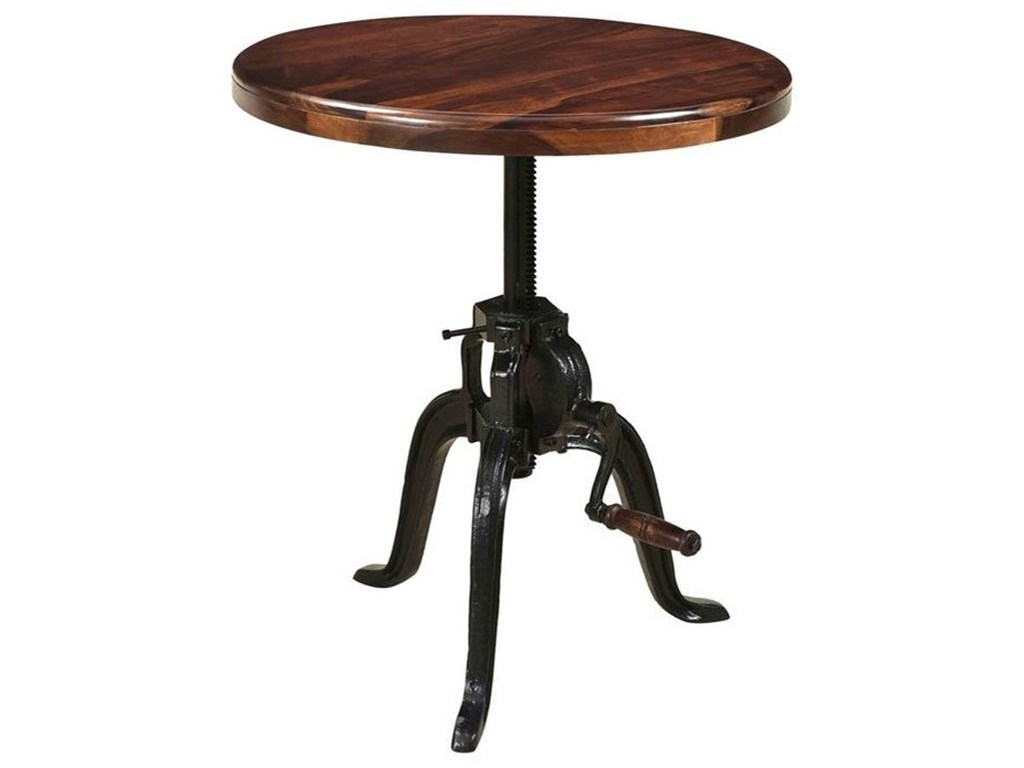 Coast to Coast Imports asdfAdjustable Round Accent Table