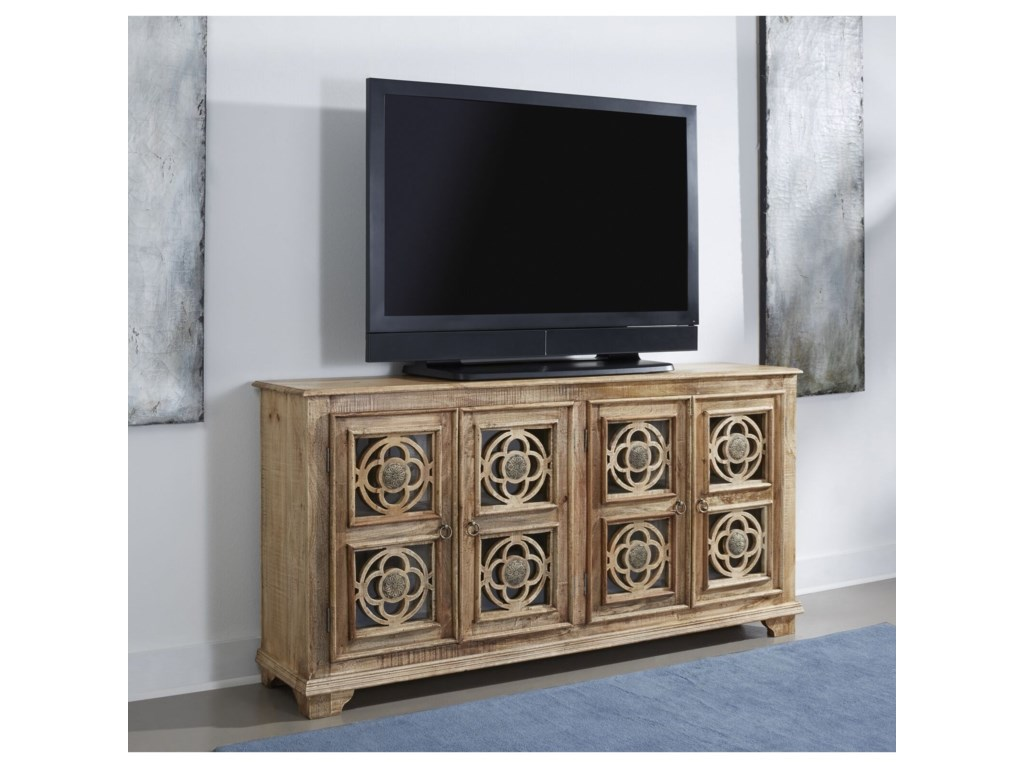 Coast to Coast Imports asdf4-Door Media Credenza