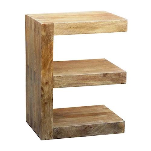 Coast to Coast Imports Coast to Coast Accents E Shaped Wooden Table