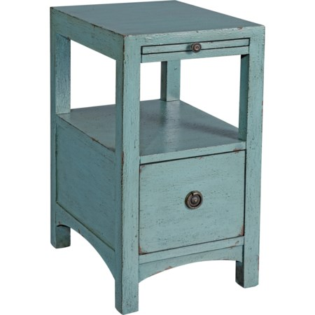 One Drawer Accent Table