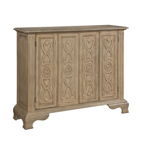 Coast to Coast Imports Coast to Coast Accents Two Folding Door Cabinet