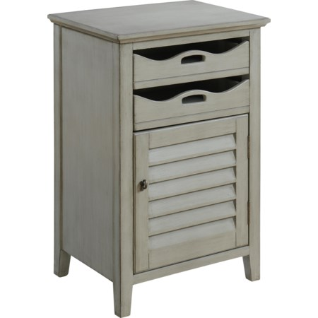 One Door Two Drawer Cabinet