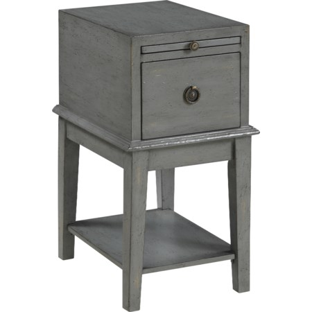 One Drawer Chairside Chest