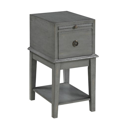 Coast to Coast Imports Coast to Coast Accents One Drawer Chairside Chest