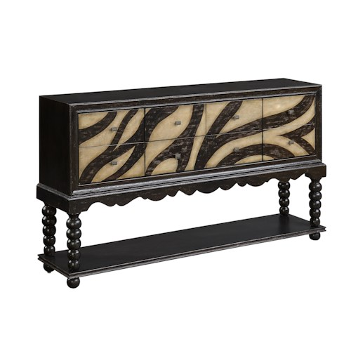 Coast to Coast Imports Coast to Coast Accents Two Door Two Drawer Sideboard
