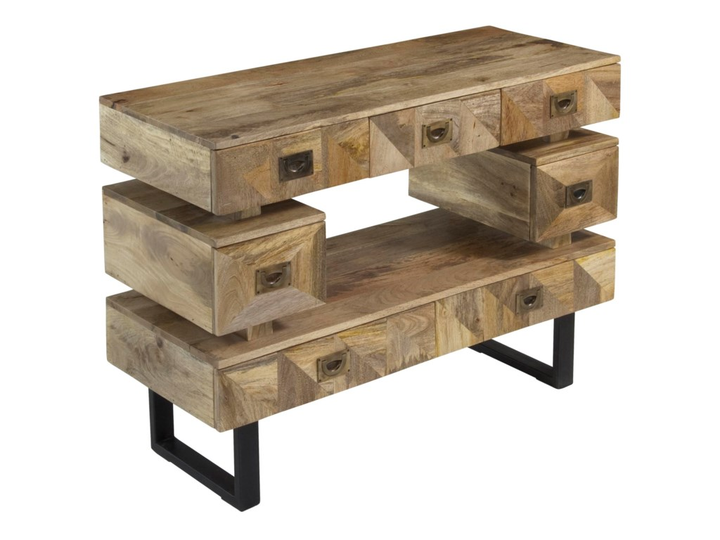 Coast to Coast Imports Coast to Coast AccentsSeven Drawer Media Console