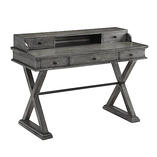 Coast to Coast Imports Coast to Coast Accents Five Drawer Desk