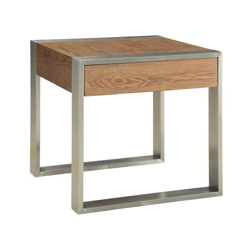 Coast to Coast Imports Coast to Coast Accents One Drawer End Table