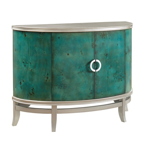 Coast to Coast Imports Coast to Coast Accents Two Door Demilume Cabinet