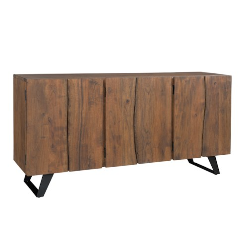 Coast To Coast Imports Coast To Coast Accents Loft Sideboard J J Furniture Accent Chests