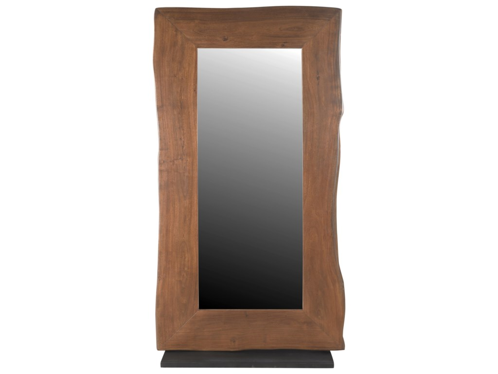 Coast to Coast Imports Coast to Coast AccentsLive Edge Floor Mirror (2 Carton Pack)