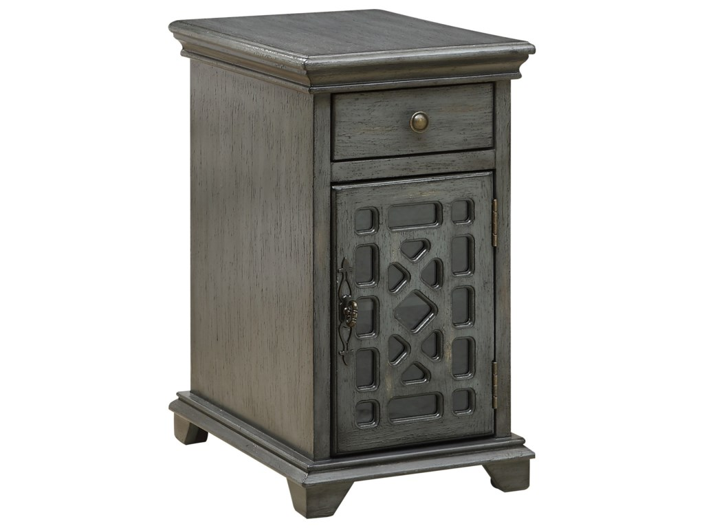 Coast to Coast Imports Coast to Coast AccentsOne Drawer One Door Chairside Cabinet