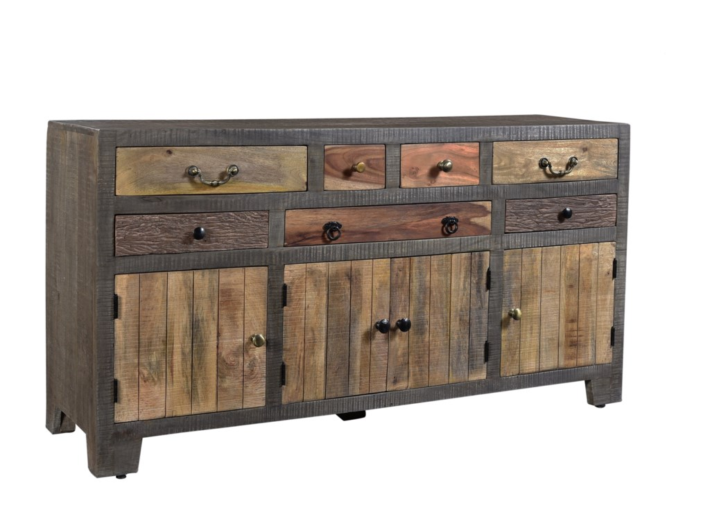 Coast to Coast Imports Coast to Coast AccentsSeven Drawer Four Door Credenza
