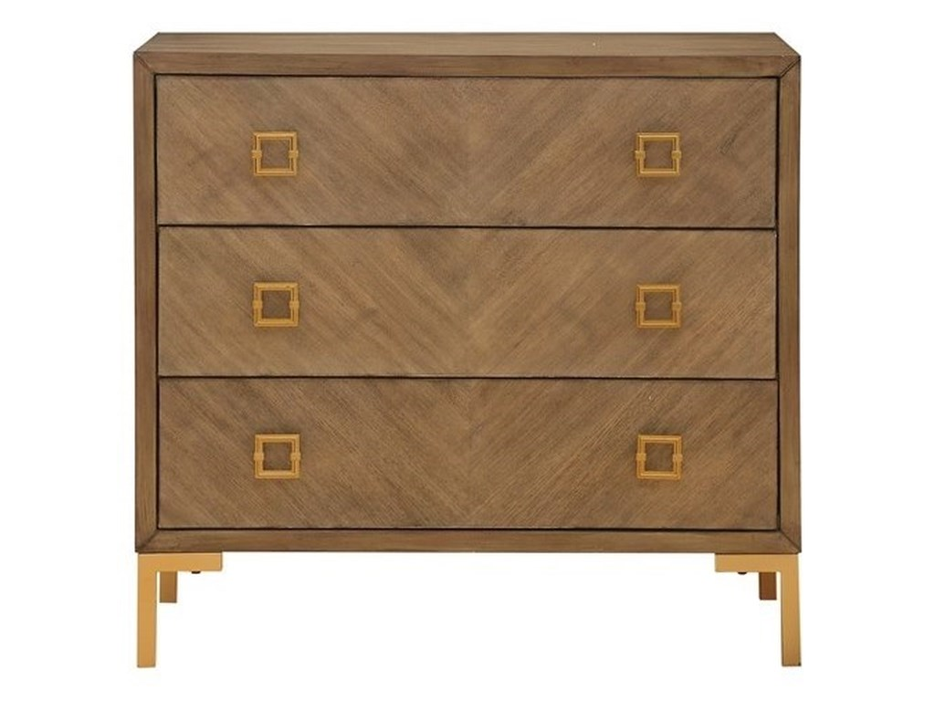 Coast to Coast Imports Coast to Coast AccentsThree Drawer Power Outlet Chest