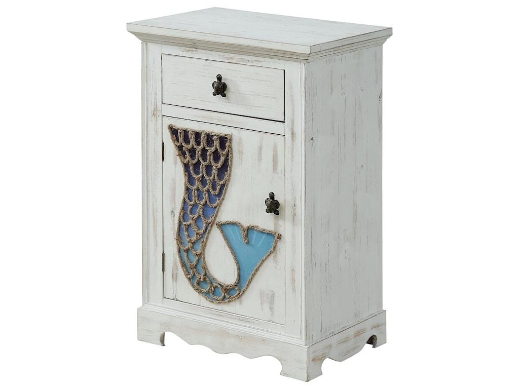 Coast to Coast Imports Coast to Coast AccentsOne Door One Drawer Cabinet