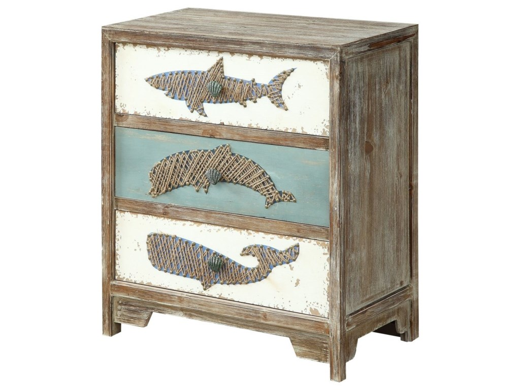 Coast to Coast Imports Coast to Coast AccentsThree Drawer Accent Chest