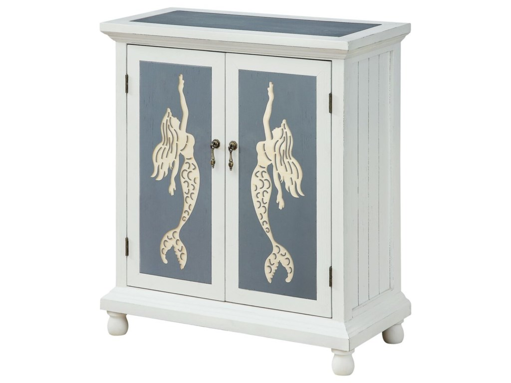 Coast to Coast Imports Pieces in ParadiseTwo Door Cabinet