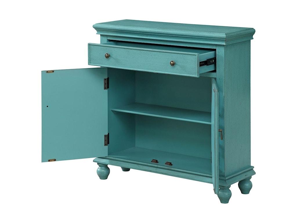 Coast to Coast Imports Coast to Coast AccentsTwo Door One Drawer Cabinet