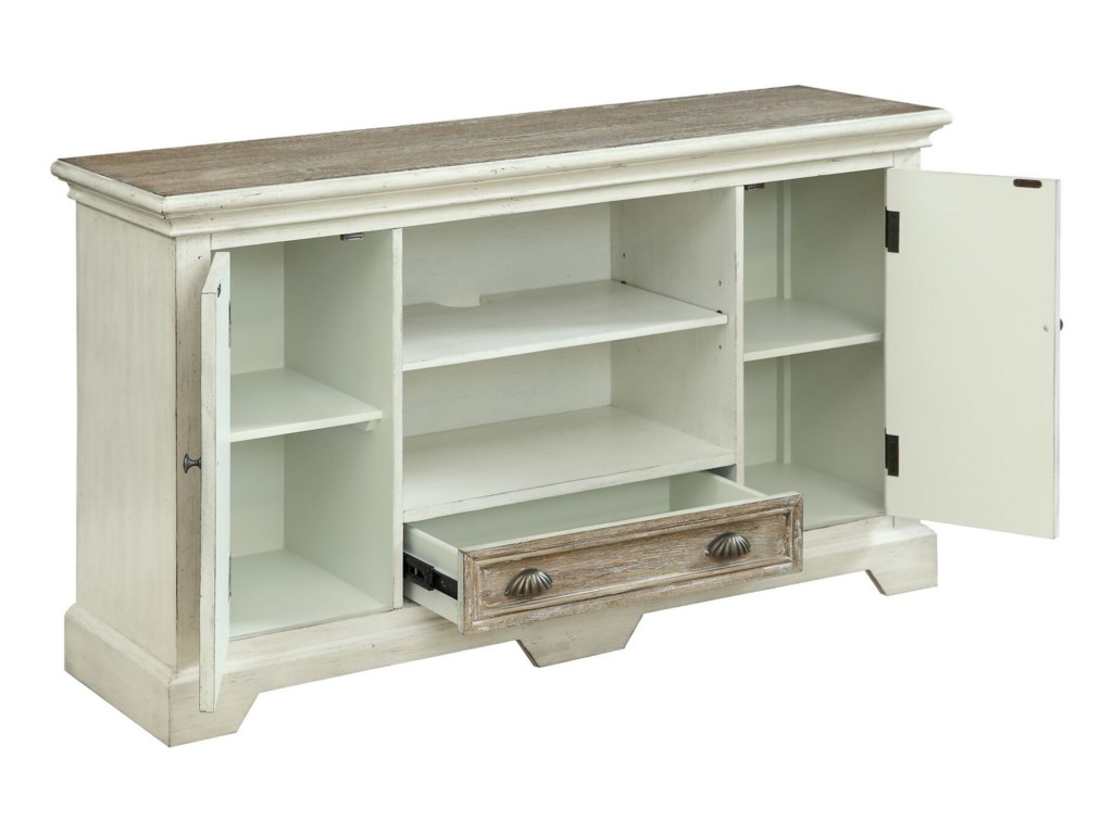 Coast to Coast Imports Coast to Coast AccentsTwo Door One Drawer Media Console