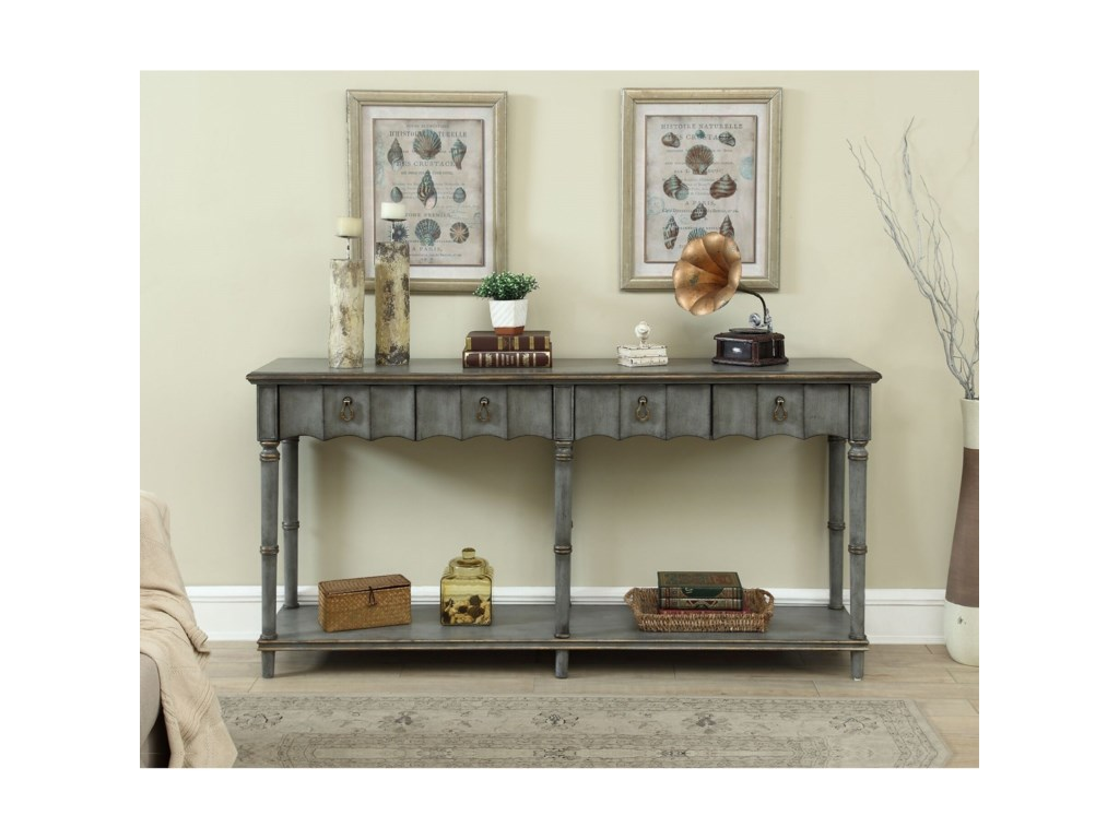 Coast to Coast Imports Coast to Coast AccentsFour Drawer Console Table