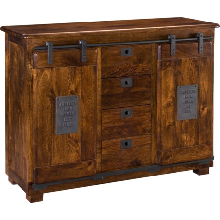 Two Door Four Drawer Sideboard