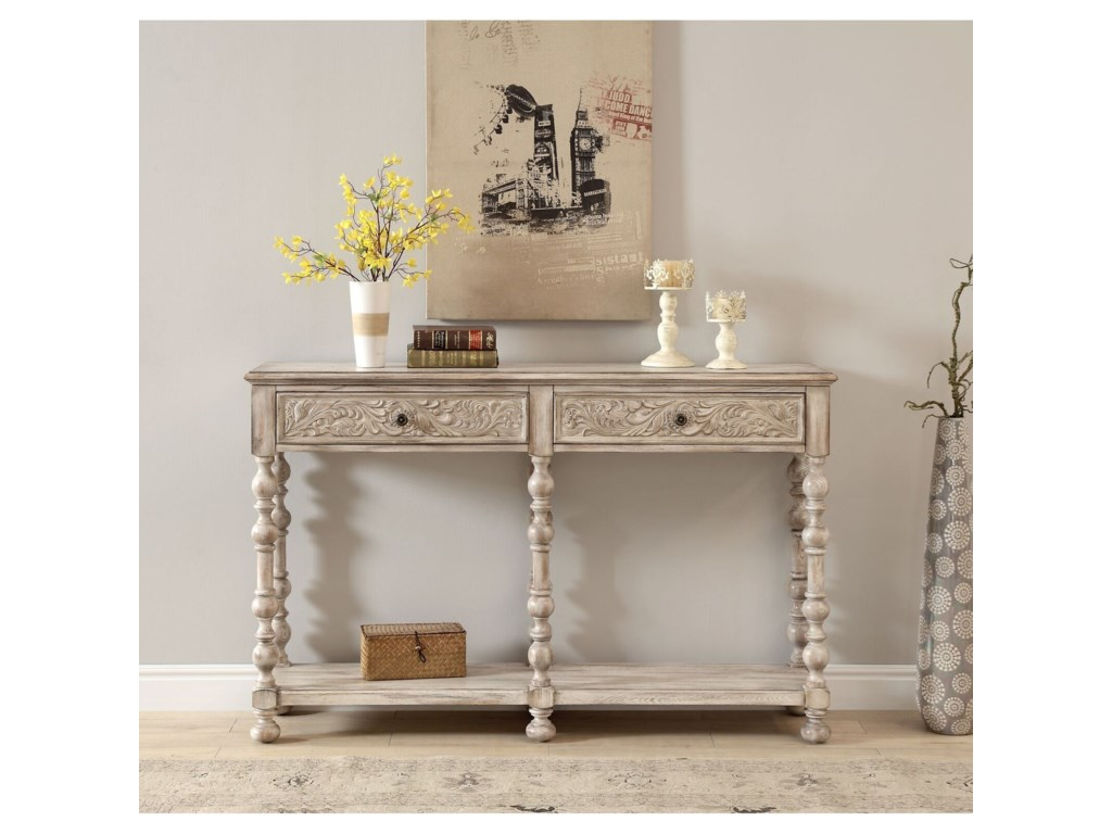 Coast to Coast Imports Coast to Coast Accents2-Drawer Console Table