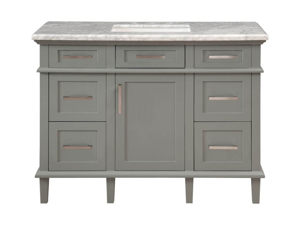 Coast to Coast Imports Coast to Coast Accents1-Door, 5-Drawer Vanity Sink