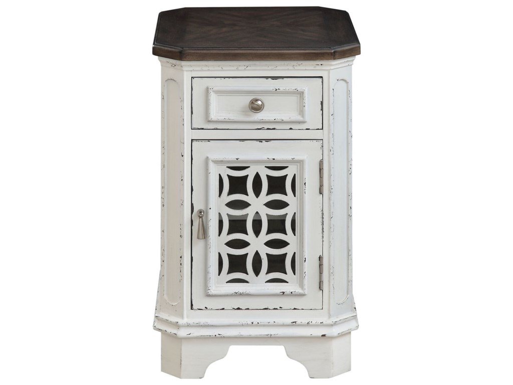 Coast to Coast Imports Coast to Coast Accents1-Door, 1-Drawer Chairside Cabinet