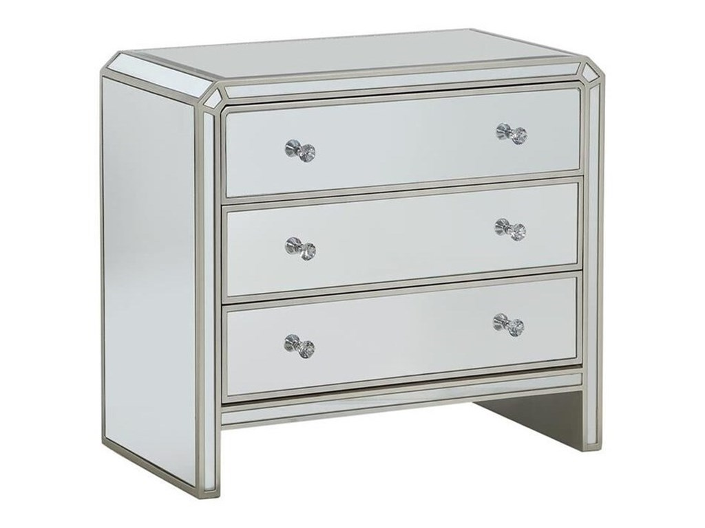 Coast to Coast Imports ReflectionsThree Drawer Chest