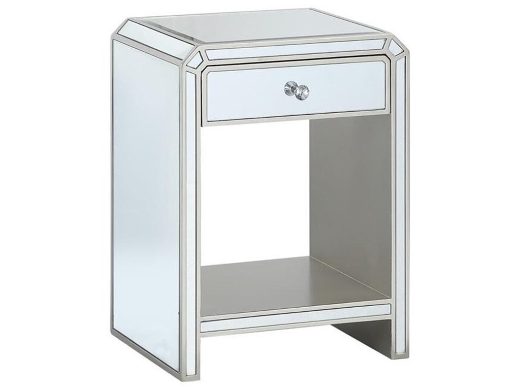 Coast to Coast Imports Coast to Coast AccentsOne Drawer Chairside Table