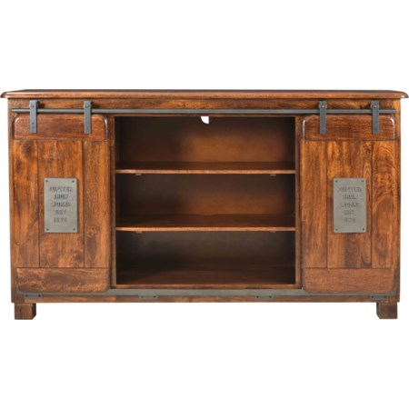8-Drawer Media Credenza