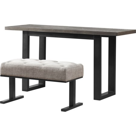Console Table w/ One Stool